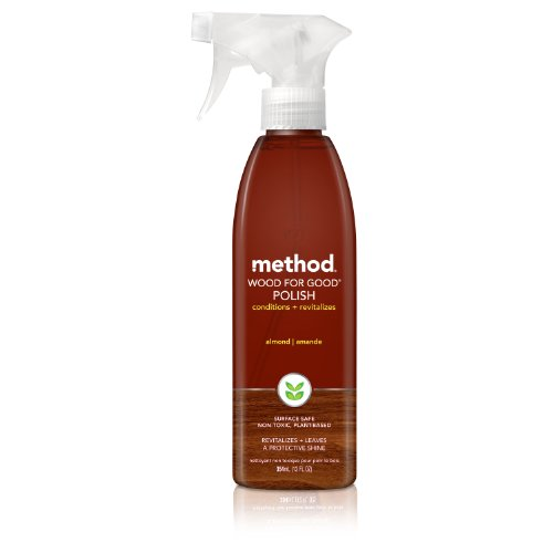 Method Wood for Good Polish, Almond, 12 Ounce (Pack of 6) (Method Wood Cleaner compare prices)