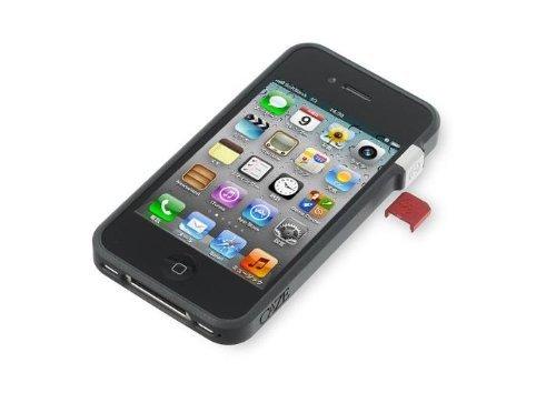 CAZE iPhone4/4S対応 世界最薄バンパー ThinEdge frame case for iPhone 4/4S Bumper - Black C-TMI4-BK