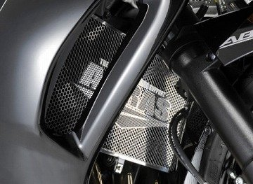 アグラス(AGRAS) ラジエターコアガード AGRAS ロゴ有 Aタイプ BANDIT1250F ABS[バンディット] 309-397-A00
