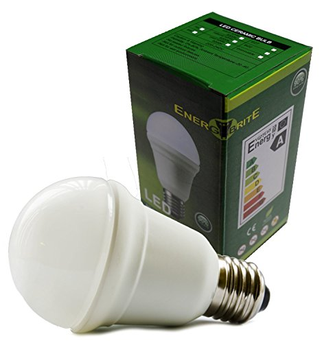Dimmable E27 Edison Screw 7W LED Ceramic A60 Globe Bulb Samsung LED Chips, Warm White,Special Offers Available