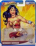 2012 Hot Wheels DC Universe WONDER WOMAN 1:64 Scale Collectible Die Cast Car