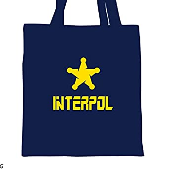 Amazon.com: ShirtMania INTERPOL Police Cop Tote Bag: Clothing