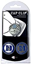 NCAA Duke Blue Devils 2 Marker Golf Cap Clip