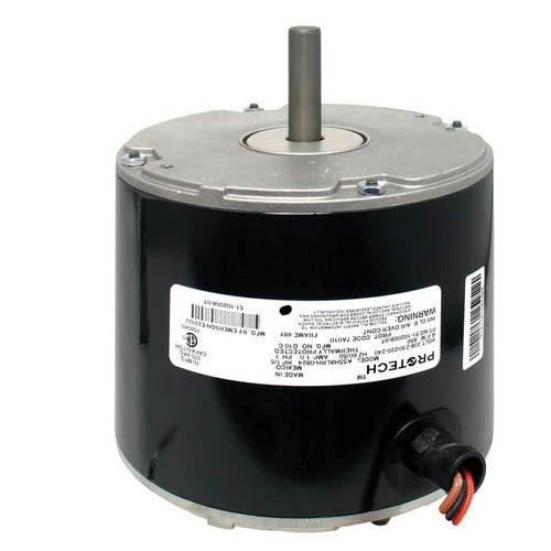 K55Hxlrh-0824 - Oem Upgraded Emerson Condenser Fan Motor 1/5 Hp 208-230/220-240 Volts 850 Rpm