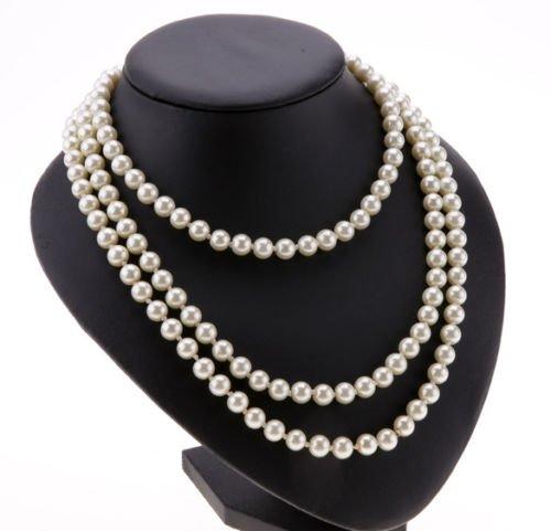 ardisle-false-pearl-white-drop-pearl-necklace-beaded-150cm-long-chain-rope-bead