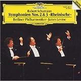 シューマン : 交響曲第2番・第3番〈ライン〉 レヴァイン=ベルリン・フィルハーモニー