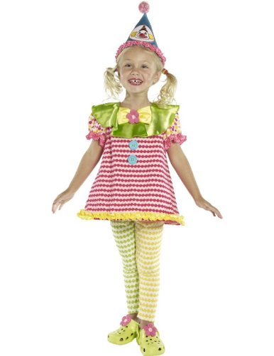 Child Clown Cutie Halloween Costume