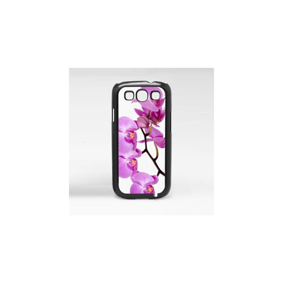 Purple Orchid Flower Samsung Galaxy S3 I9300 Hard Case