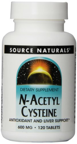 Source Naturals N-Acetyl Cysteine 600mg, 120 Tablets (N Acetyl Cysteine 1000 compare prices)