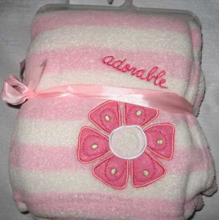 "Sumersault ""Adorable"" Baby Blanket"