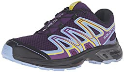 Salomon Women\'s Wings Flyte 2 W Trail Runner, Cosmic Purple/Pale Lilac/Black, 9.5 D US