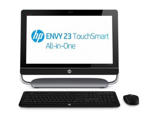 HP Envy 23-d035ea TouchSmart All-In-One Desktop PC (Intel Core i3 3.4GHz, 6GB RAM, 2TB HDD, Intel HD Graphics, Integrated webcam, DVD-RAM, Windows 8)