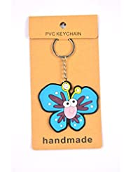 Blue Butterfly Key Chain Pack Of 2