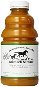 Natural Plan Stomach Soother Plastic Bottle for Horse, 32-Ounce