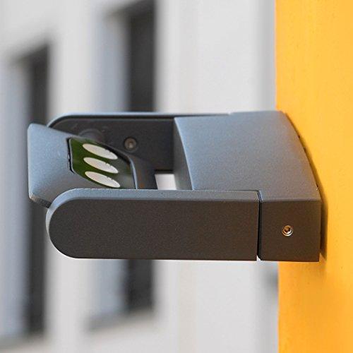 Wandleuchte LEDSPOT | 3×3 Watt LED | Kaltweiß | Aluguß | Anthrazit | 1-flammig | schwenkbar | IP54