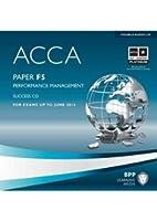 ACCA - F5 Performance Management: Audio Success CDs
