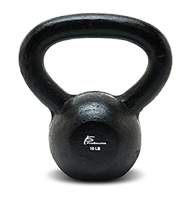 ProSource Solid Cast Iron Kettle Bell Weights