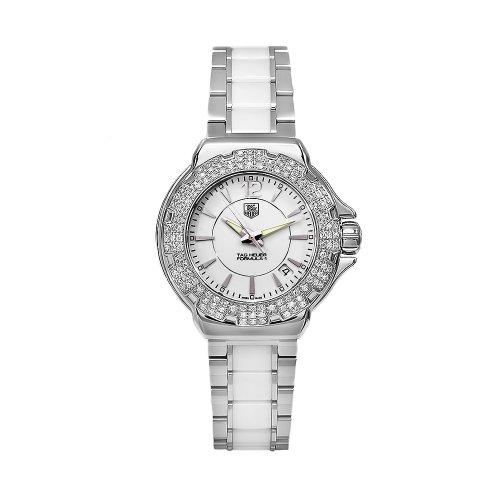 TAG Heuer Women's WAH1215BA0861 Formula 1 White Dial Watch