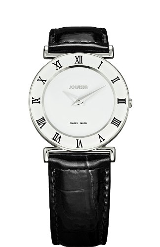 Jowissa Women's J2.002.M Roma 30 mm White Dial Roman Numeral Leather Watch