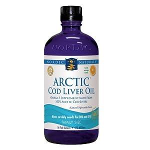 Nordic Naturals - Arctic Cod Liver Oil (Orange) - 16oz [Health and Beauty]