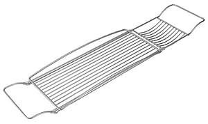 Metaltex Reflex Badewannenablage mit Polytherm-Beschichtung ausziehbar