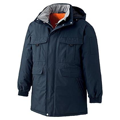 ミドリ安全 【冷蔵庫内・屋外作業に】 《防水/極寒・防寒》 コート M4087 ネイビー M
