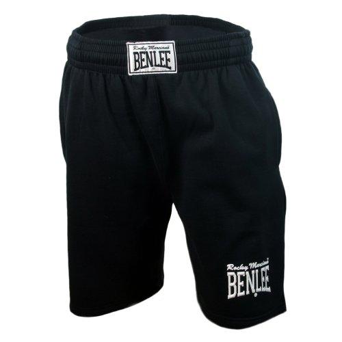Benlee Rocky Marciano Basic Short Pantaloncini sportivi, Nero, L