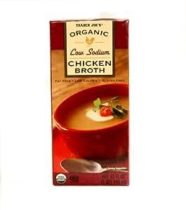 Amazon.com : Trader Joe's Organic Low Sodium Chicken Broth ...
