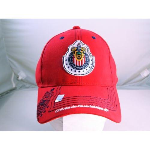 CHIVAS de GUADALAJARA OFFICIAL TEAM LOGO CAP / HAT   CV015
