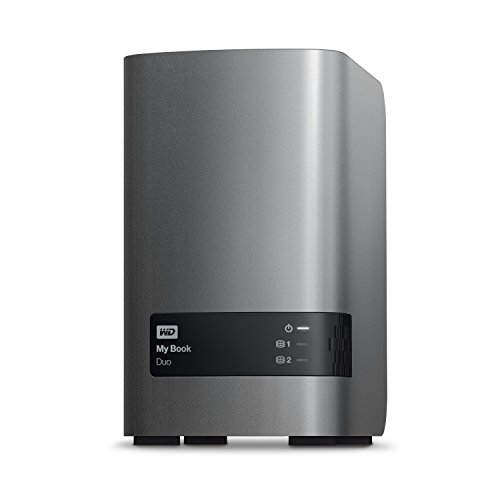 WD 8TB My Book Duo Desktop RAID External Hard Drive - USB 3.0 - WDBLWE0080JCH-NESN