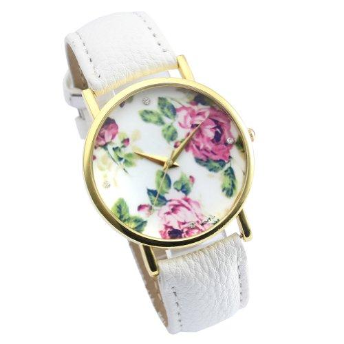 better-dealz-vintage-blume-damen-armbanduhr-basel-stil-quarzuhr-lederarmband-uhr-top-watch-3weiss