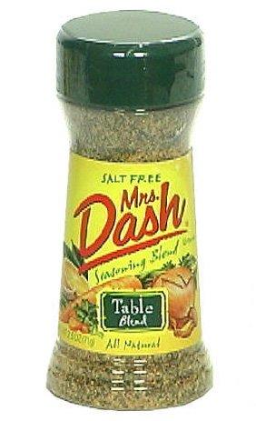 Mrs. Dash Seasoning, Table Blend, All-Natural, Salt-Free, 2.5-Ounce Shaker (Pack of 6)