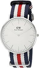 Comprar Daniel Wellington 0202DW - Reloj con correa de acero para hombre, color blanco / gris