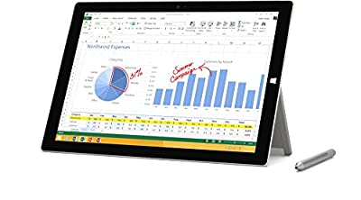 "Microsoft Surface Pro 3 Tablet (12"", 256 GB, 8GB RAM, intel i5-4300U 1.9GHz, 5MP Camera, Media Card Reader, Windows 10)"