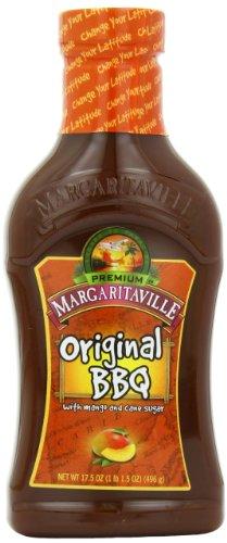 Margaritaville Original BBQ Sauce, 17.5 Ounce (Pack Of 6)