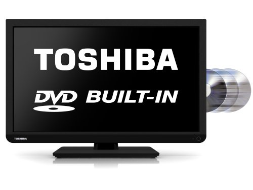 Image of Toshiba 22D1333B 22-inch Widescreen 1080p Full HD LED TV with Built-In DVD Player