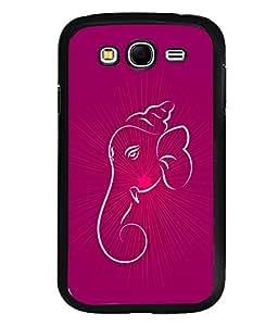 printtech Lord Ganesha Glow Aura Back Case Cover for Samsung Galaxy Grand i9080:::Samsung Galaxy Grand i9082