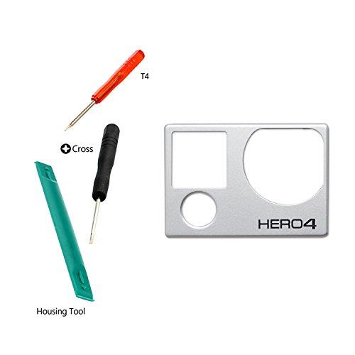 kr-net-front-cover-abdeckung-rahmen-gehause-reparieren-ersatzteile-fur-gopro-hero-4-silver-black-kam