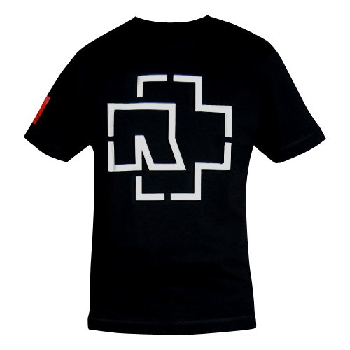 """Rammstein, T-shirt """"LOGO"""" (L)"""