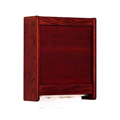 Wooden Mallet C-Fold/Multi-Fold Towel Dispenser, Mahogany (Cfold Hand Towel Dispenser compare prices)