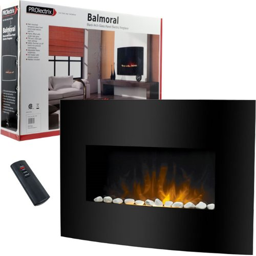 ProLectrix Balmoral Electric Fireplace Heater w/ Remote | Electric ...