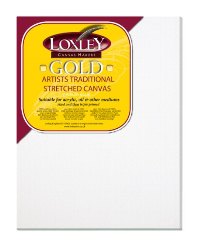 loxley-gold-lienzo-45-x-35-cm-18-mm-color-blanco
