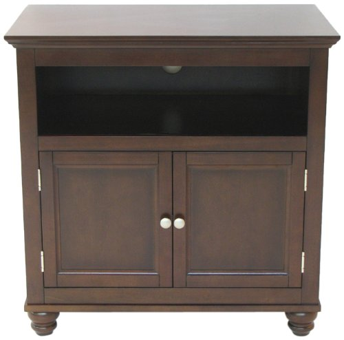 Simple Connect Middleton Collection 32-Inch Bunfoot High Boy TV Stand, Mocha Finish photo B007IFNQJC.jpg