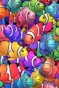 Artgame - Clownfish - 3D Mini Puzzles - 1