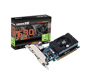 Inno3D nvidia Geforce GT630 LP 4Gb DDR3 HDMI DVI VGA 128 bit video graphics card PCI express pcie x16 HD 1080P Low profile