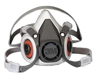 3M 6000 Series Half Mask Respirator - Medium