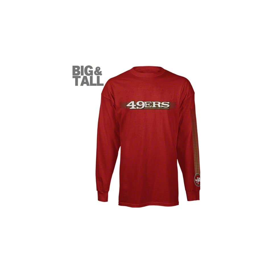 San Francisco 49ers Big   Tall Long Sleeve Solid Jersey T on PopScreen 5321001a7