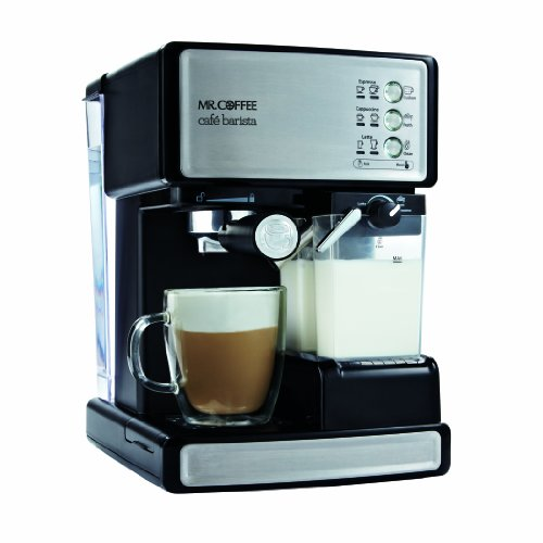 Mr. Coffee BVMC-ECMP1000 Café Barista Espresso Maker, Without Free Sample