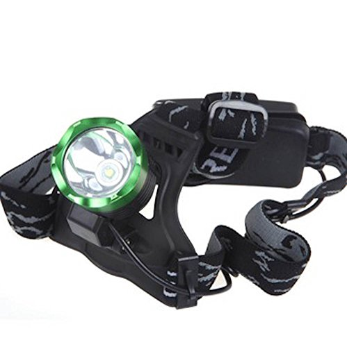Ac Charger 100-240V Camping Head Lamp 2000Lm Xm-L T6 Led Rechargeable Headlamp Headlight 2B