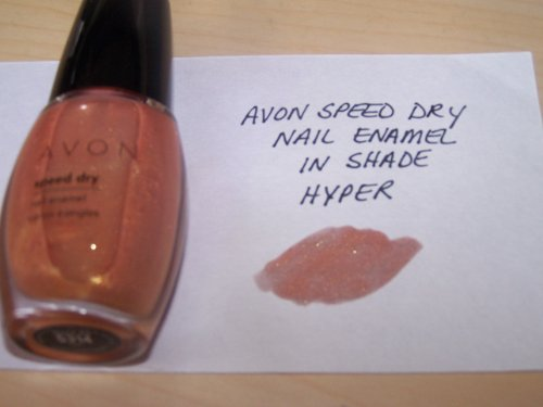 Avon Speed Dry Nail Enamel in Shade Hyper (Avon Bath Paint compare prices)